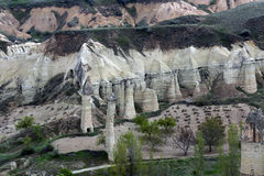 Goreme, Cappadocia, die Türkei stockfotos