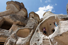 Goreme Cappadocia die Türkei Stockfoto