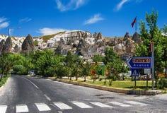 Goreme, Cappadocia, Turcja Obrazy Stock