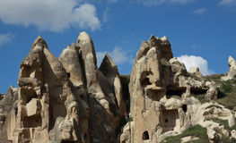 Goreme in Cappadocia, Turkey. Royalty Free Stock Images