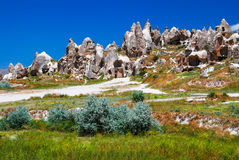 Goreme, Cappadocia in Turkey Stock Photography