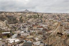 Goreme in Cappadocia, Turkey Stock Photography