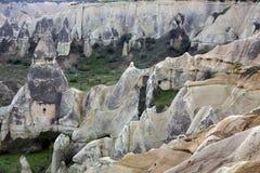 Goreme Cappadocia, Turkiet arkivbilder
