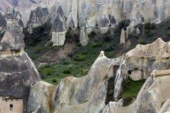 Goreme Cappadocia, Turkiet arkivfoton