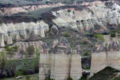 Goreme Cappadocia, Turkiet arkivbild