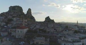 Goreme in Cappadocia, Turkije stock videobeelden