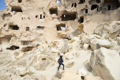 Goreme Cave City Stock Image