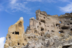 Goreme cave city Royalty Free Stock Images