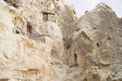 Goreme cave city Royalty Free Stock Photos