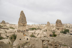 Goreme cave city Royalty Free Stock Photo