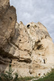 Goreme cave city Stock Images