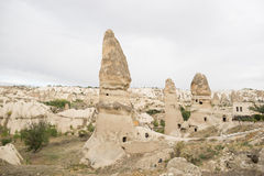Goreme cave city Royalty Free Stock Photography