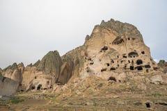 Goreme cave city Stock Photography