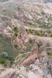 Goreme cave city Stock Image