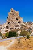 Goreme cave city in Cappadocia Turkey. Nature background Royalty Free Stock Images