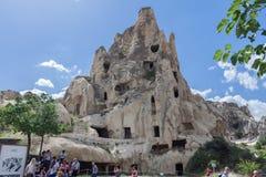 Goreme Dwellings Turkey Royalty Free Stock Image