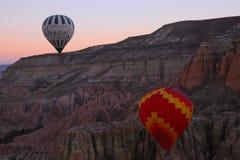Goreme för cappadocia för kalkon för luftballonger Royaltyfria Foton