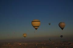 Goreme för cappadocia för kalkon för luftballonger Royaltyfri Fotografi