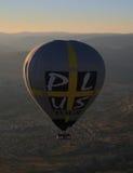 Goreme för cappadocia för kalkon för luftballonger Arkivbilder