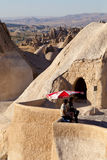 Goreme Guard Stock Photo