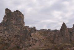 Goreme house. In Cappadokia, Turkey Royalty Free Stock Image