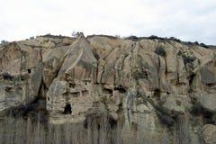 Goreme na wolnym powietrzu muzeum w Cappadocia Obrazy Royalty Free