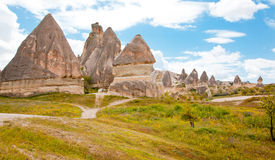 Goreme National Historical Park. Beautiful spring landscape at Capadochia, Goreme National Historical Park, in Turkey Stock Photos