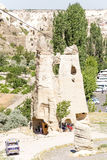 Goreme National Park, Turkey. Medieval church, carved into the rock Stock Photography