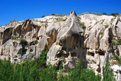 Goreme Open Air Museum. The most famous sight in Turkey's Cappadocia region and rightly so is the Goreme Open-Air Museum. The Goreme Valley holds the region's Stock Photography