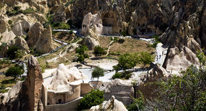 Goreme Open  Air museum Stock Photos