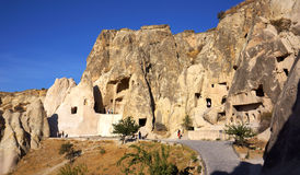 Goreme Openluchtmuseum Stock Foto's