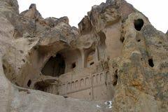 Goreme Openluchtmuseum in Cappadocia Royalty-vrije Stock Afbeeldingen