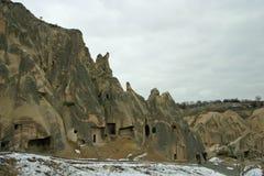 Goreme Openluchtmuseum in Cappadocia Royalty-vrije Stock Foto