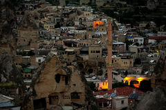 Goreme scenery in Turkey Stock Images