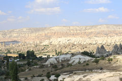 Goreme stones Royalty Free Stock Photos