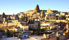 Goreme Town Royalty Free Stock Images