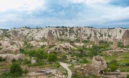 Goreme Valley Royalty Free Stock Image