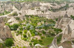 Goreme Valley Stock Image