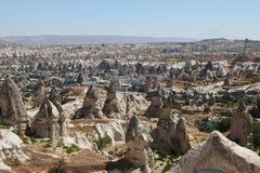 Goreme valley, cappadocia, turkey Royalty Free Stock Photography