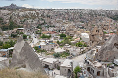 Goreme view in Cappadocia, Turkey Royalty Free Stock Image