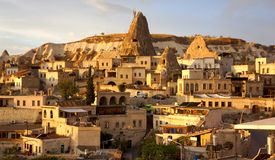 Goreme Village Royalty Free Stock Images