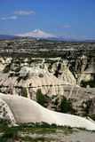 Goreme and Zelve Gorges Royalty Free Stock Photos