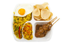 Goreng de Nasi imagem de stock