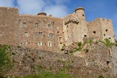 gorey Τζέρσεϋ mont orgueil UK κάστρων Στοκ Εικόνες