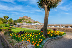 Gorey Castle in St Martin Jersey Stock Photography