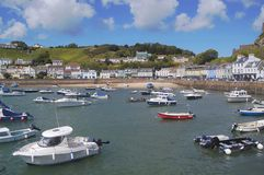 Gorey Harbour, Jersey Stock Photos