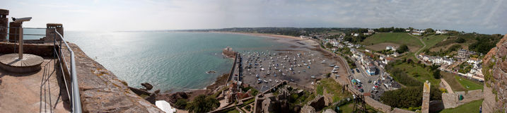 Gorey from teh top of the castle Stock Photo