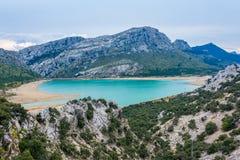 Gorg Blau jezioro, Majorca zdjęcie stock