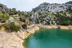 Gorg Blau Lake, Majorca Stock Photography