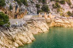 Gorg Blau Lake, Majorca. (spain Stock Photography